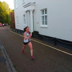 GBR 2015 Super Karen finishing her leg strongly on Sunday